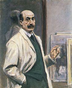 Liebermann, Max: Selbstbildnis, 1909-10.