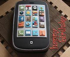 iPhone Cake Iphone cake Cake and Birthday cakes