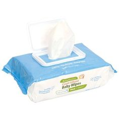 Babyganics Thick N Kleen Cream Infused Baby Wipes Value Box Four 100-Count Packs