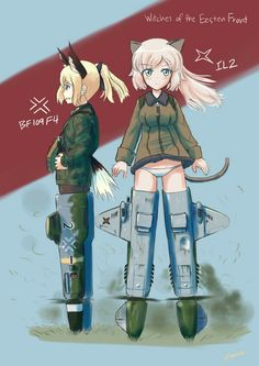 Anime Military, Military Girl, Sonic Fan Characters, Fictional Characters, Military Archives, Brave Witches, Sao Ggo, Strike Witches, Monster Girl