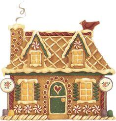Gingerbread House Gingerbread Santa Claus Food for Christmas - Christmas Gingerbread House, Christmas Love, Christmas Pictures, Christmas Themes, Vintage Christmas, Christmas Holidays, Christmas Crafts, Christmas Ornaments, Gingerbread Houses