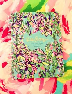 Lilly Pulitzer Large Agenda in Hot Spot