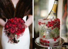 winter berry wedding   Winter Berry Wedding curated by Hand-Painted Weddings