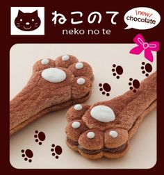 Delicious Pastry Shaped Like a Cat's Paw Currently Available at Japanese Hotel