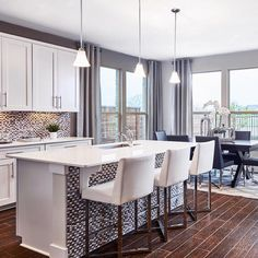 Open, spacious, and inviting. With our open concept kitchens hosting guests has never been easier. [Oaks at Lakeline Station - Austin, TX]