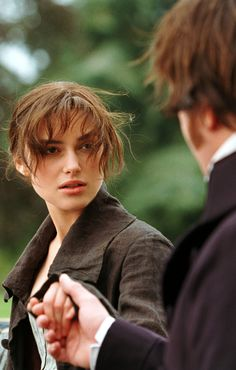 Mild emotional turmoil after their first touch | Elizabeth and Mr. Darcy - Pride and Prejudice 2005
