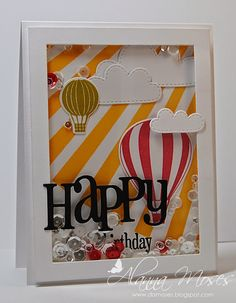 Alanna's Spot in the World: Happy Birthday Shaker Card for showCASe Your Style