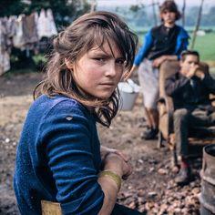 Gypsy child, Kent, 1964. Jane Brown