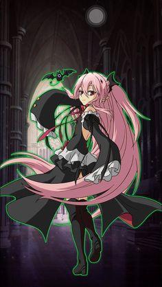 Krul Tepes - Owari no Seraph - Image - Zerochan Anime Image Board Anime Demon, Anime Manga, Anime Art, Asuna, Fanarts Anime, Anime Characters, Image Fairy Tail, Foto Top, Dragon Names