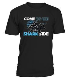 """Love sharks? This fun tee features great whites with the ominous """"Come To The Shark Side"""" over the front! Get this as a gift for school, work, discovery, or for the week of the shark!   This Great White Shark Come To The Shark Side T-Shirt 2017 is designed and printed to be fitted. For a more looser fit, please order a size up. Grab this shirt for a shark lover or shark lovers close to you!    TIP: If you buy 2 or more (hint: make a gift for someone or team up) you'll save quit..."""