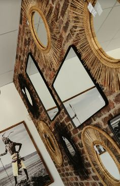 Safari Decor mirrors Safari Decorations, Interior Styling, Interior Design, Watch This Space, Curtains With Blinds, African Safari, Retail Shop, Delft, Mirrors