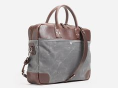 No. 237 Briefcase, Ash Waxed #Ash #Brief #Brown