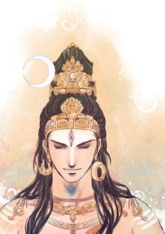 Sundareswarar means the Handsome Lord. Shiva descended from Mt.kailash assuming this form to marry Meenakshi,the Queen of Madurai,the ruler . Shiva as the Sundareswarar Shiva Parvati Images, Shiva Hindu, Shiva Shakti, Hindu Deities, Hindu Art, Arte Shiva, Shiva Art, Krishna Art, Lord Shiva Hd Images