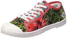Le Temps des Cerises  Ltc Basic 02,  Damen Sneaker , Mehrfarbig - Mehrfarbig - Multicolore (Palm) - Größe: 36 - http://on-line-kaufen.de/le-temps-des-cerises/36-eu-le-temps-des-cerises-ltc-basic-02-damen-19