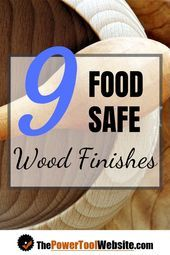 "Come see the 9 best food grade wood finish options for your wooden toys salad bowls cutting boards and more. Learn how to decide which food grade finish is best for your project plus find out how ""food safe"" may not mean what you think it means. Woodworking Techniques, Easy Woodworking Projects, Popular Woodworking, Wood Projects, Woodworking Furniture, Woodworking Plans, Lathe Projects, Learn Woodworking, Woodworking Magazine"