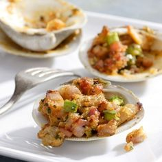 Region of Origin: France Style: Lighter-bodied; no oak Estimated Price: Under $10 Try It With:Clams Casino (pictured)Shrimp and Avocado Canapés   - Delish.com