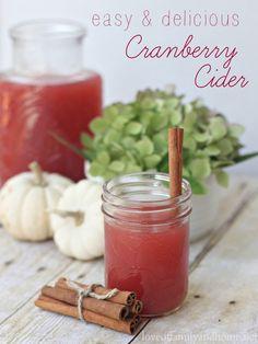 Easy & Delicious Cranberry Cider