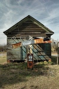 Abandoned store, Wisconsin....Was there an Ike Godsey that ran this?