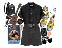 """""""hello, this is my mind"""" by starscounter394 on Polyvore featuring moda, Margaret Howell, New Look, Converse, CO, Topshop, Retrò y Allstate Floral"""