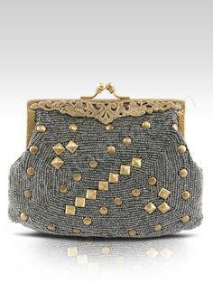 Vintage Handbags, Vintage Purses, Vintage Bags, Beaded Clutch, Beaded Purses , 71778b9424