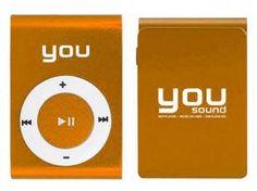 MP3 Player Clip 4GB - You Sound