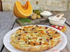 Pizza al Farro con Patate, Zucca e Salsiccia | 2 Amiche in Cucina