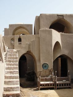 Norags and Vernacular Architecture at the Ramses Wissa Wassef Art Centre, near Cairo, Egypt