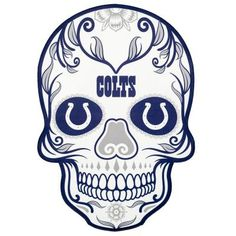 Display your pro football team pride on your curbside, front door, mailbox, home entrance or steps with the NFL Mini Skull Graphic Decal. Durable and dynamic painted-on design is UV resistant and will adhere to a variety of external surfaces. Football Mom Shirts, Pro Football Teams, Nfl Oakland Raiders, Nfl Dallas Cowboys, Nfl Colts, Indianapolis Colts, Minnesota Timberwolves, Logo Color, Henna