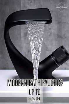 Modern Bath faucets up to 50% off retail prices. Use for your home, business or restaruant.