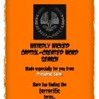 Free: Mockingjay pumpkin carving template & truly terrible word search made by President Snow...