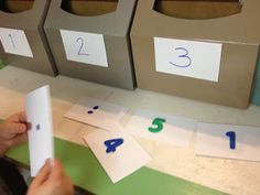 """Number recognition game ("""",)"""