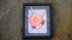 Wall Art Shadow Box Frame Floral Wall Decor Home Accessories Shadow Box Art