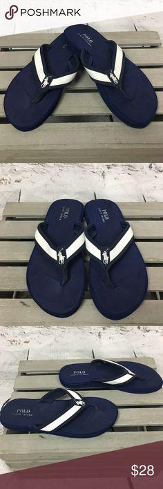 bf1a6d613dd89 Polo Ralph Lauren Almer II Mens Flip Flop Sandals Polo Ralph Lauren Almer  II Mens Flip