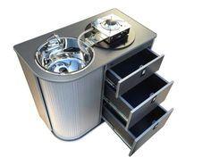 Kitchen pod- Can fold sink hob | EVO Design