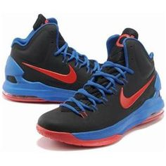 http://www.asneakers4u.com/ Nike Zoom KD V Royal Blue/Black/Red Sale Price: $68.10