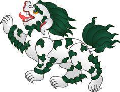 Tibetian Snow Lion.File:Snow Lion.svg