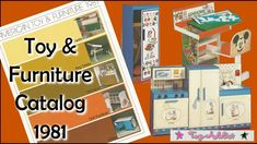 American Toy & Furniture Co 1981 Catalog ~ Holly Hobbie, Betsey Clark, D...