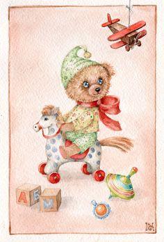 teddy bear- Inga Izmaylova