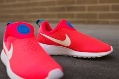 Nike Rosherun Slip On - Laser Crimson Via: Tenisufki.eu