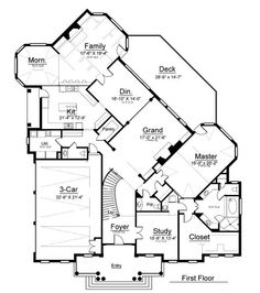 belt creek ranch house plan dream homes pinterest house Cape Cod Greek Revival House Plans find this pin and more on dream home first floor plan of greek revival Traditional Cape Cod House Plans