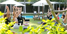 Surf and yoga is good for the soul... Ocean Soul Retreat in Bali