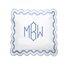 THE BEST MONOGRAMMED BEDDING
