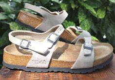 Birkenstock Birkies Tan Leather Sandals 38 Women 7-7.5 #Birkenstocks #AnkleStrap