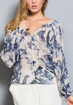 it's cute and it's named after me, really? Celeste Chiffon Tunic