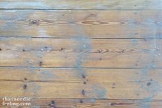 how to white oil stain your floors