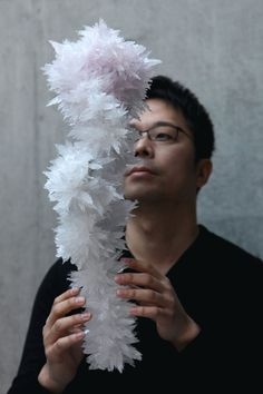 Tokujin Yoshioka.The Artist Grows Mesmerising Crystal Colonies For His ''Crystallize'' Exhibition.