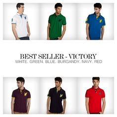Best Seller – Polo Victory Shirts Starting at Rs. 600 Only ‪#‎SALE‬ Buy Now - www.provogue.com