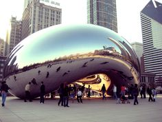 Cloud Gate is a public sculpture by Indian-born British artist Anish Kapoor, that is the centerpiece of AT