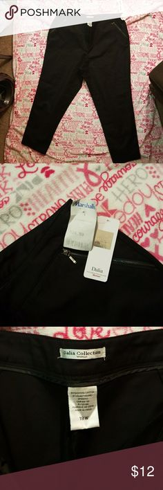 Dalia Collection dress pants Women's black slacks Dalia Collection Pants