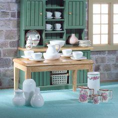 Ceramic Accessories Set from The Dolls House Emporium